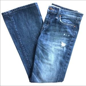 Joe's Jeans Provocateur Distressed Bootcut Jeans